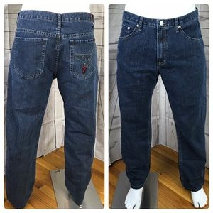 7 For All Mankind Eagle Pocket Jeans Size Tag 36